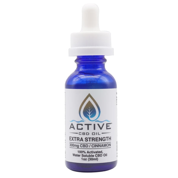 Active CBD Oil tincture - Water Soluble