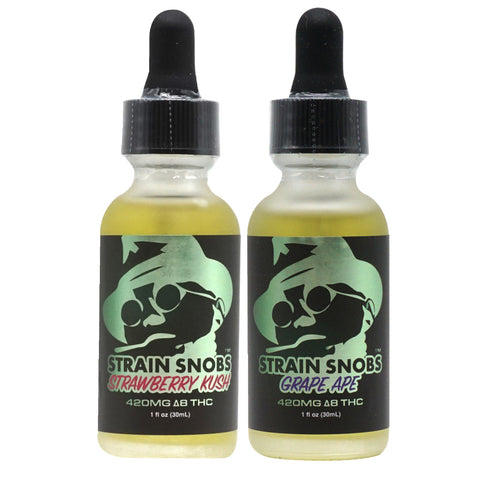 Image of Strain Snobs - Delta 8 Tincture