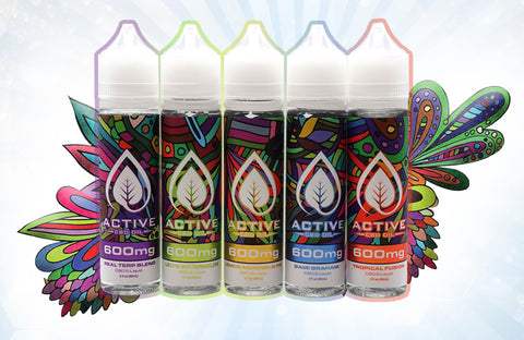 Image of CBD vape liquid group