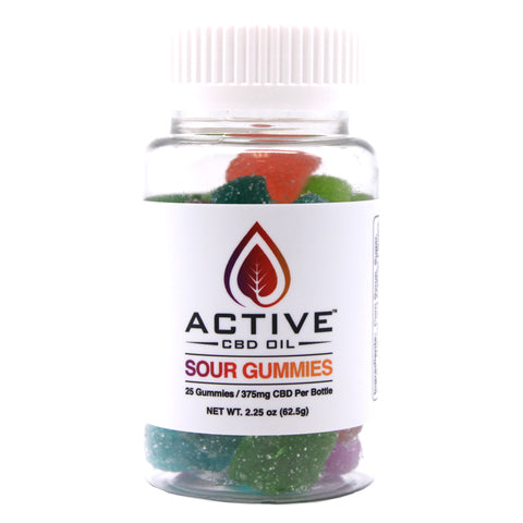 Image of Active CBD oil Gummies