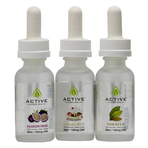 CBD Vape Juice 150mg Trio