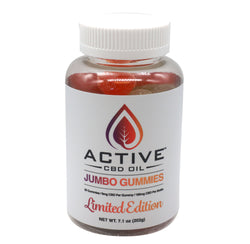Active CBD Oil Jumbo Gummies - Limited Edition