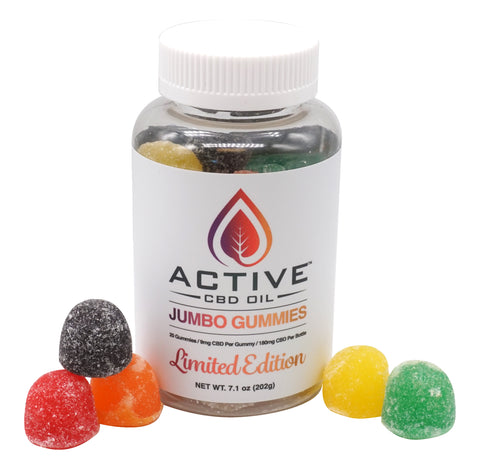 Image of Active CBD Oil Jumbo Gummies - Limited Edition