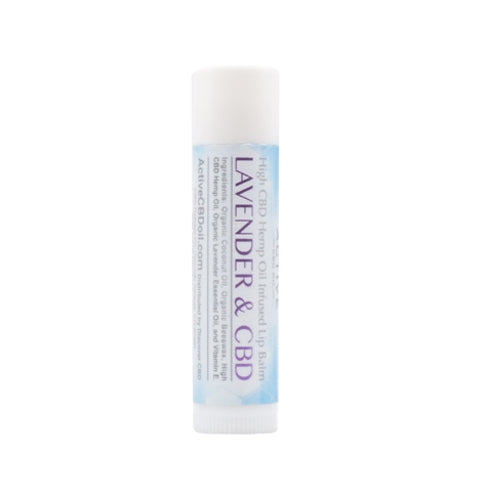 Image of cbd lip balm lavender