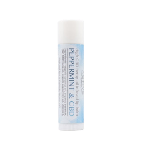 cbd lip balm peppermint