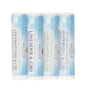 CBD lip balm group