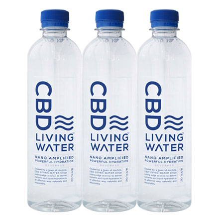 Image of cbd water triple