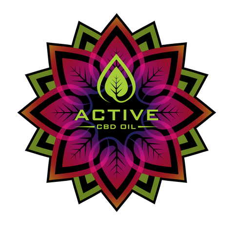 Active CBD Sticker