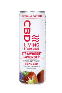 sparkling water strawberry lavender