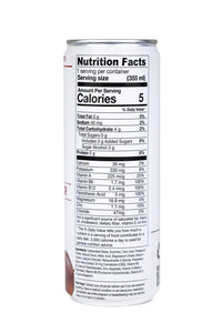 sparkling water nutrition facts