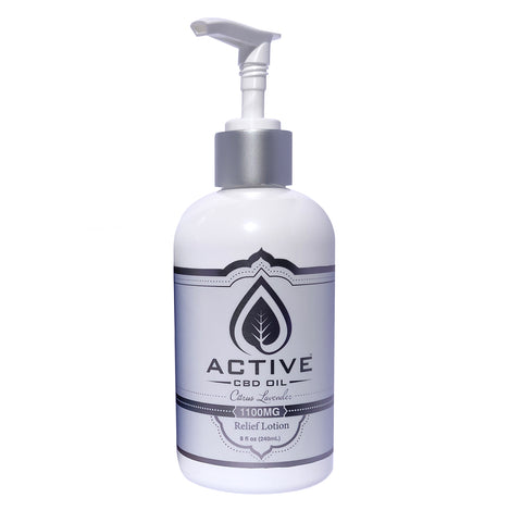 """NEW"" Active CBD Oil Lotion - 1100mg"