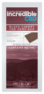 Incredible Black Cherry CBD Bar