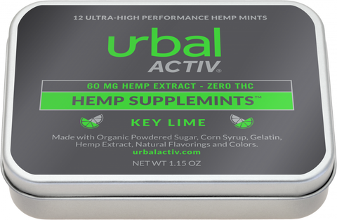 Urbal Activ CBD Infused mints