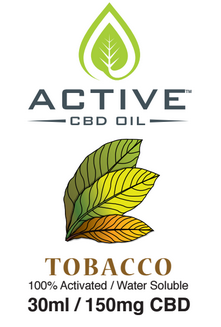 Image of Tobacco vape juice graphic cbd