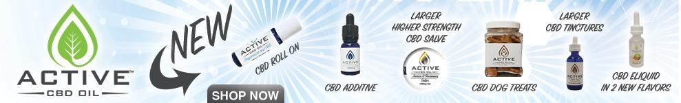 New Active cbd products