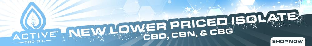 New Active CBD Oil E-Liquid