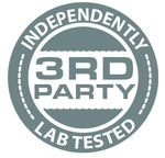 Image of independently 3rd party tested