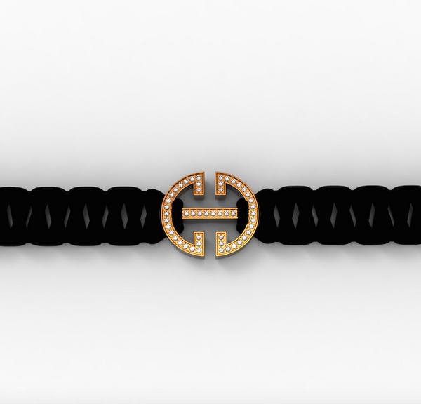 Rose Gold Diamond 'Universi' Bracelet (UNISEX) - trunfio universe  - 1