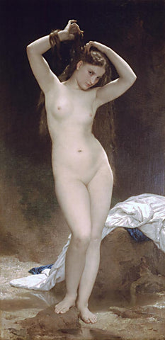 William Adolphe Bouguereau-Bather 1870