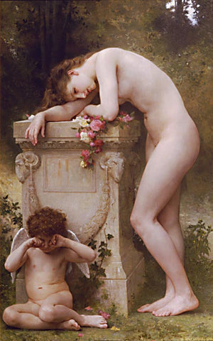 William Adolphe Bouguereau-Elegy