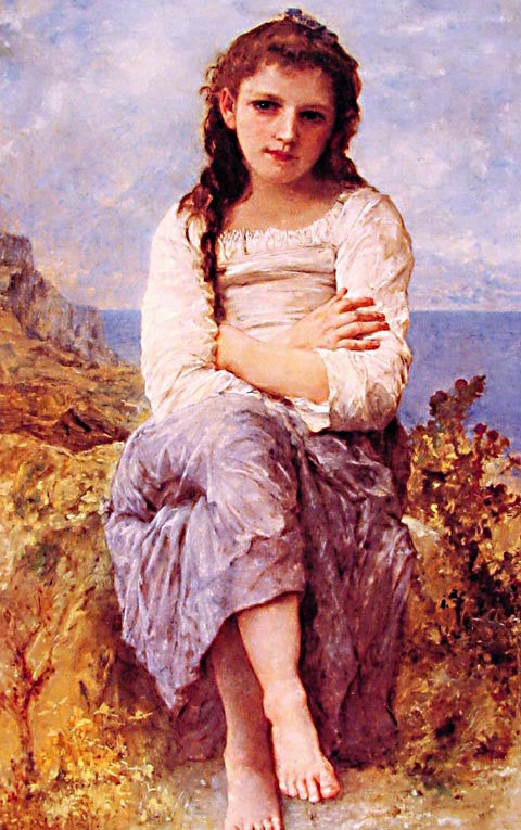 William Adolphe Bouguereau-Far Niente