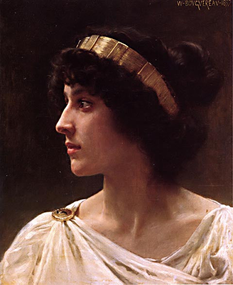 William Adolphe Bouguereau-Irene