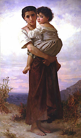 William Adolphe Bouguereau-Bohemiennes