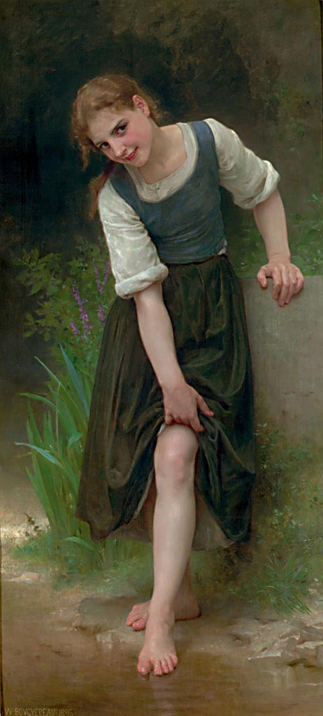 William Adolphe Bouguereau-The Gue