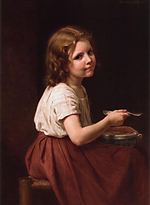 William Adolphe Bouguereau-Soup