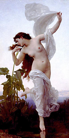 William Adolphe Bouguereau-Dawn