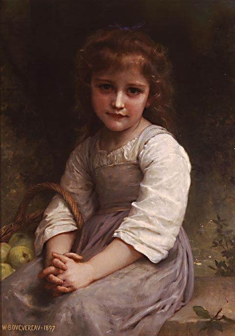William Adolphe Bouguereau-Apples