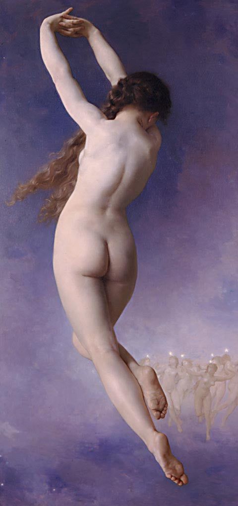 William Adolphe Bouguereau-The Lost Pleiad