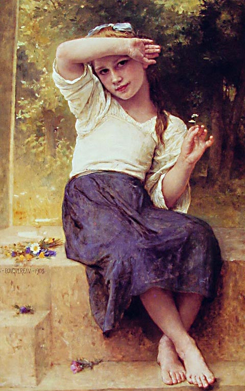 William Adolphe Bouguereau-Marguerite