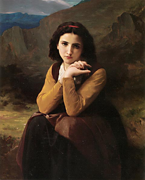 William Adolphe Bouguereau-Mignon