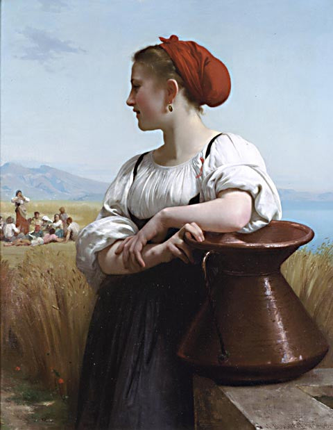 William Adolphe Bouguereau-The Harvester