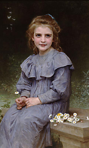 William Adolphe Bouguereau-Daises
