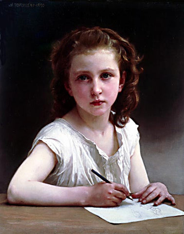 William Adolphe Bouguereau-A Calling