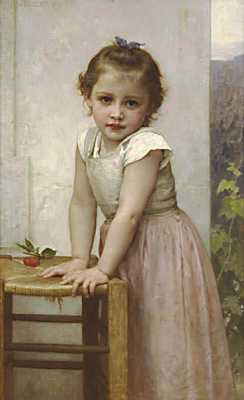William Adolphe Bouguereau-Yvonne