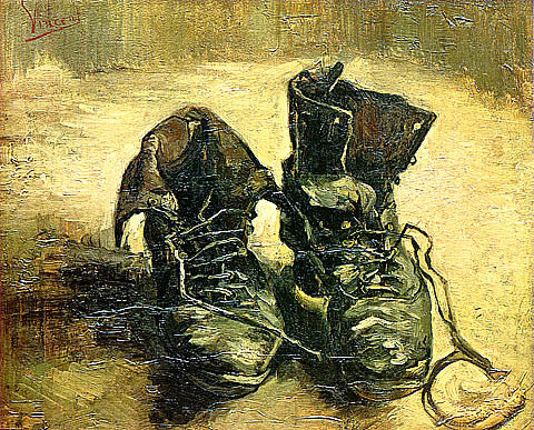 Vincent Van Gogh-A Pair Of Shoes 1886