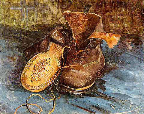 Vincent Van Gogh-A Pair Of Shoes