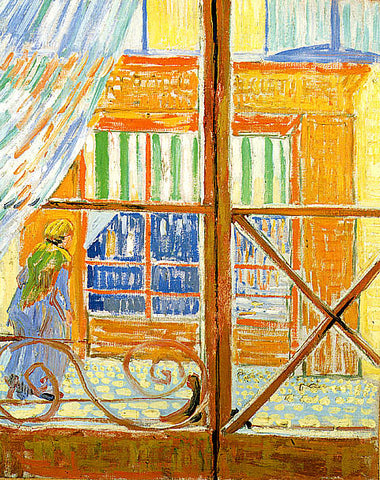 Vincent Van Gogh-A Pork Butchers Shop