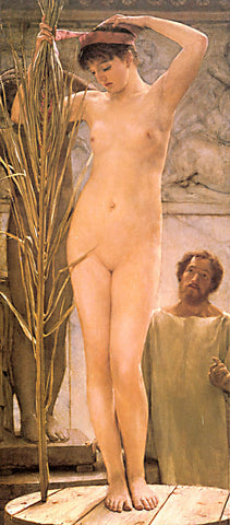 S. L. Alma-Tadema-A Sculptures Model 1877
