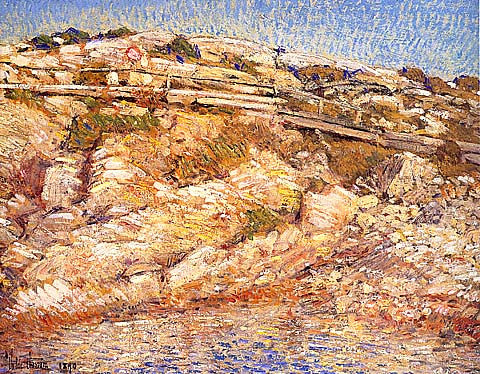 Childe Hassam-A Walk Around The Island