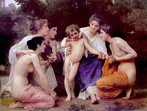 William Adolphe Bouguereau-Admiration