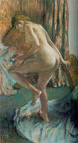 Edgar Degas-After The Bath 1883