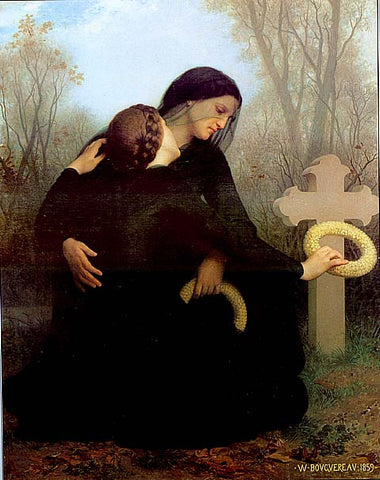 William Adolphe Bouguereau-All Saints Day