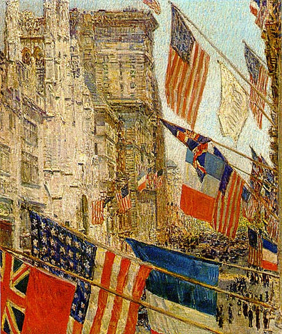 Childe Hassam-Allies Day