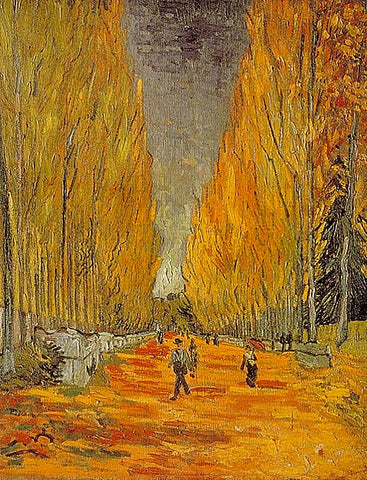 Vincent Van Gogh-Alyscamps 1888
