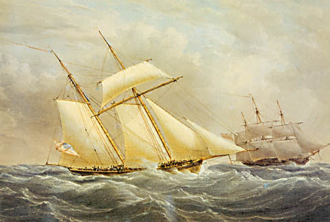 William Joy-An American Topsai Schooner