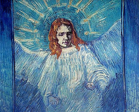Vincent Van Gogh-Angel 1889